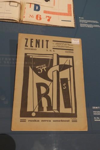 """Zenit. Russische Themenausgabe (fotografiert von mir auf der Schirnausstellung """"Sturmfrauen"""")."""